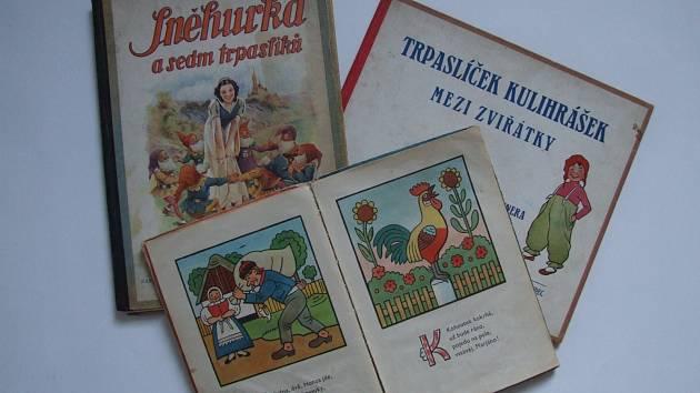 Z výstavy Svět dětské knihy. Foto: Jihomoravské muzeum Znojmo