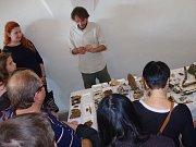 Pátá výstava živých hub v Domě umění začala v pondělí odpoledne. Potrvá do čtvrtka.