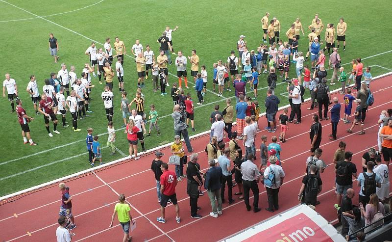 Znojmo vidělo pět československých gólů do sítě Barcelony