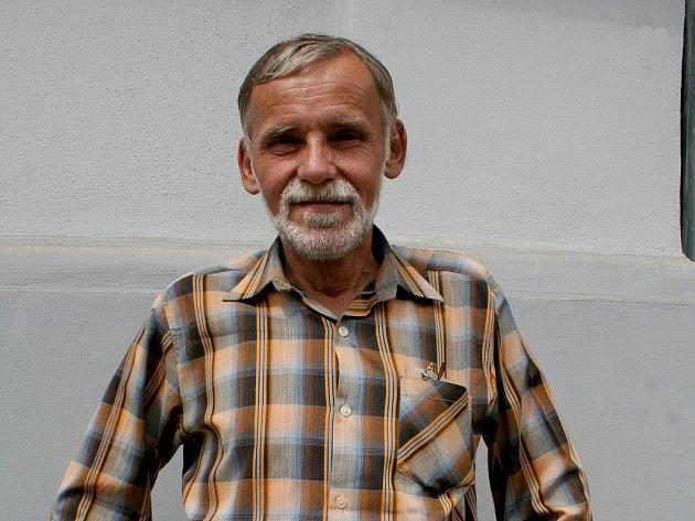 František Hudec z Podhradí nad Dyjí.
