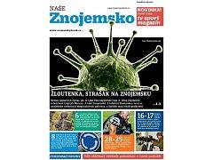 Titulka druhého čísla nového týdeníku Naše Znojemsko.