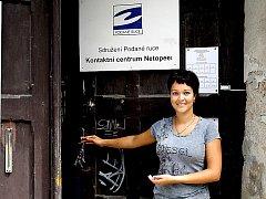 Šéfka Kontaktního centra Netopeer  Zuzana Protivínská.