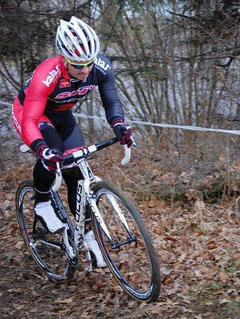 Cyklista Zdeněk Mlynář.