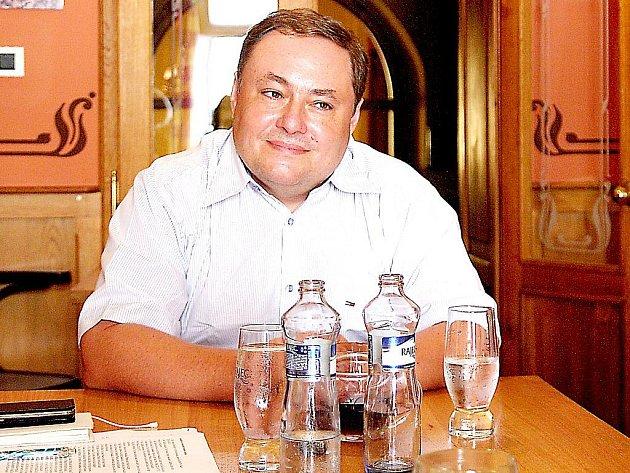 Šéf jihomoravských Zemanovců Marian Keremidský.