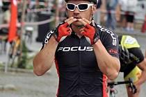 Cyklista Zdeněk Mlynář se připravuje na další maraton.