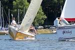 Na jezeře vranovské přehrady se jel o víkendu jachtařský Moravia Cup.