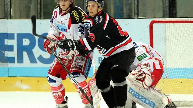 Nedělní hokejové utkání mezi Znojmem a Klagenfurtem skončilo kvůli technickým problémům se znojemskou ledovou plochou po první třetině za stavu 2:2.