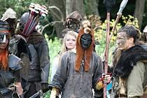Fanoučci Tolkienova fantastického světa se sešli v údolí říčky Rokytné poblíž Rozkoše na Jevišovicku.