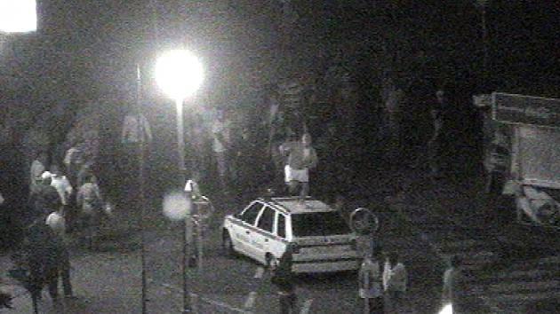 Znojemští strážníci měli rušnou noc.
