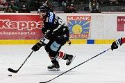 Hokejisté Orlů Znojmo nastoupili v neděli proti celku chorvatského Záhřebu.