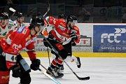 Znojemští hokejisté se v pátek utkali s rakouským Grazem v rámci 41. kola mezinárodní soutěže EBEL.