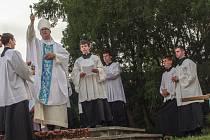 První červencovou sobotu slaví věřící v Hlubokých Mašůvkách tradičně hlavní pouť.