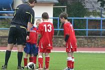 Městský stadion ve Znojmě hostil turnaj fotbalových přípravek E.ON Junior Cup.