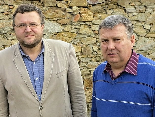 Novým předsedou Rady Národního parku Podyjí se stal Tomáš Vrška (vlevo), místopředsedou je vranovský starosta Lubomír Vedra.
