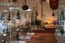Výstava Barevné vánoce.