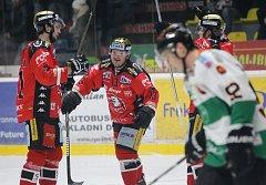 Schwarz doma vynuloval také Graz. Naděje Orlů na play-off žije