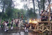 K sobotní bitvě u Dobšic na Znojemsku patří i boj o brod řeky Dyje.