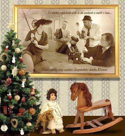 Přestože ani letos nebudou Vánoce bílé, jak onich sní snad každý znás a zpívá onich řada zpěváků a zpěvaček, přeje celá redakce Znojemského deníku Rovnost ze srdce co nejhezčí a nejpohodovější vánoční svátky všem svým čtenářům.