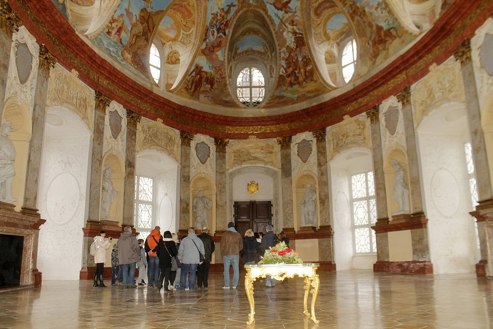 Státní zámek Vranov nad Dyjí přivítal o Velikonocích své první letošní návštěvníky z řad turistů.