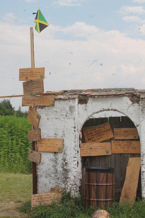 Konopná farma Vranč na Bítově.