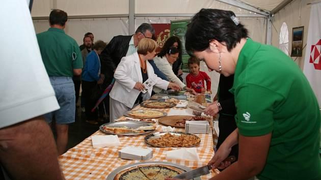 Frgály a škvarky na ochutnávce festivalu Znojemský hrozen