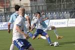 Fotbalisté 1. SC Znojmo zakončili sezonu FNL před svými fanoušky vysokou výhrou, když nastříleli sestupujícímu Vyšehradu osm branek. Ročník ukončili na třetím místě s tříbodovou ztrátou na postupující Hradec Králové a Karvinou.