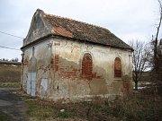 Kaple v bývalé obci Ječmeniště