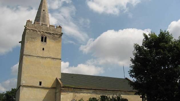 Kostel sv. Jilji v Nasiměřicích