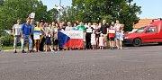 Také v Jevišovicích se sešlo několik desítek lidí, aby vyjářilo svůj občanský názor a postoj k politice vlády Andreje Babiše.