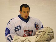 Sledge hokejista Jan Matoušek