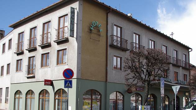 Krumlovský Hotel Epopej. Ilustrační foto.
