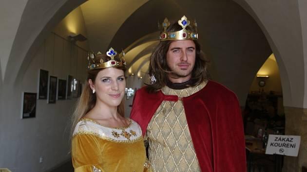 Královský pár pro letošní Vinobraní.