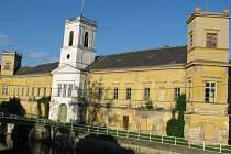 Zámek ve Veselí nad Moravou. Ilustrační foto.