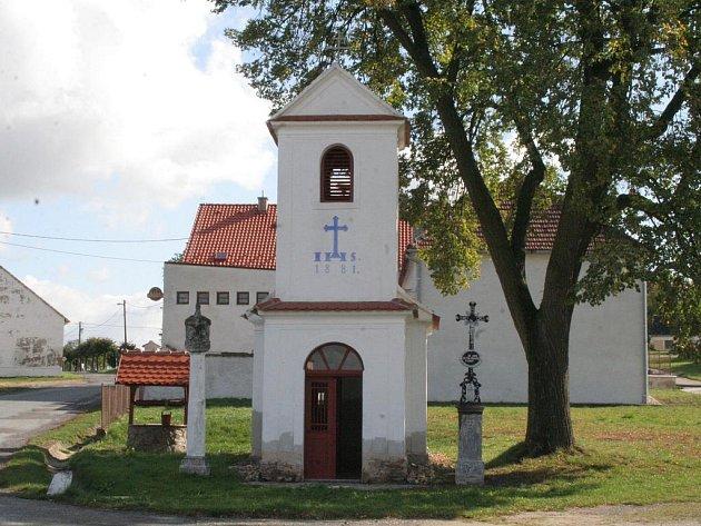Vesnice Rozkoš.