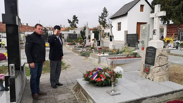 Ve Višňové uctili památku legionáře