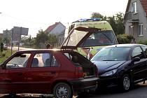 Nehoda ve znojemské městské části Načeratice. Ilustrační foto.