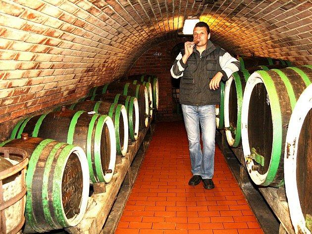 Vinař Antonín Saleta je známý díky široké škále odrůd, které vyrábí.