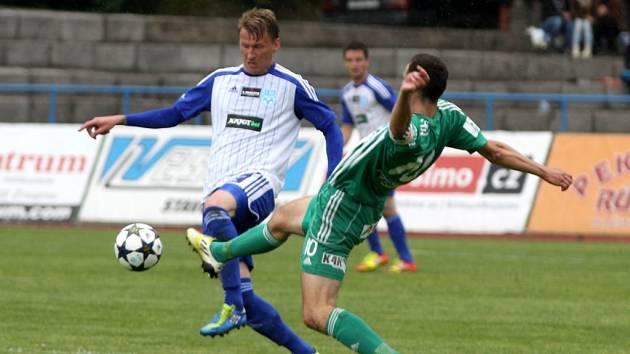 V 86. minutě rozhodl Heinz díky nahrávce Mudry o vítězství Znojma 2:1 nad Bohemians.