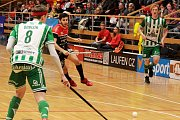 Florbalisté TJ Znojmo LAUFEN sehráli doma utkání proti Bohemians Praha.