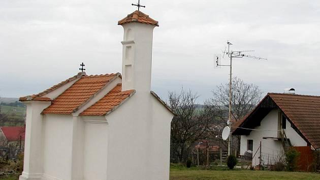 Vesnice Skalice na Znojemsku.