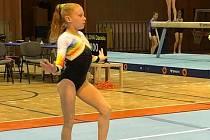 Deváté místo z GYM FESTu v Trnavě si přivezla znojemská gymnastka Veronika Kubošná. Uspěla tak v mezinárodní konkurenci.