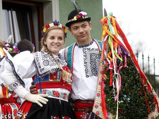 Na Kateřisnké hody zvala celou předposlední listopadovou sobotu krojovaná chasa mladých z Chvalovic.