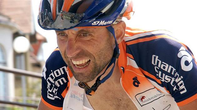 Cyklista Martin Vojtěch.