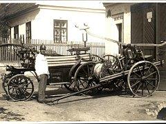 SDH Miroslavské Knínice před sto lety