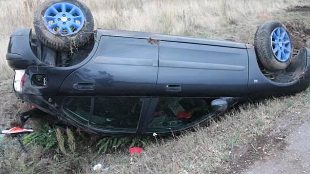 Čtveřice středečních nehod na silnicích na Znojemsku.
