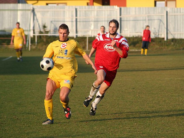 Fotbalisté Tasovic porazili Rosice 3:1.
