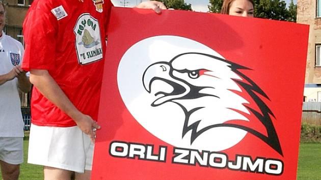 Znojemští Orli mají nové logo.