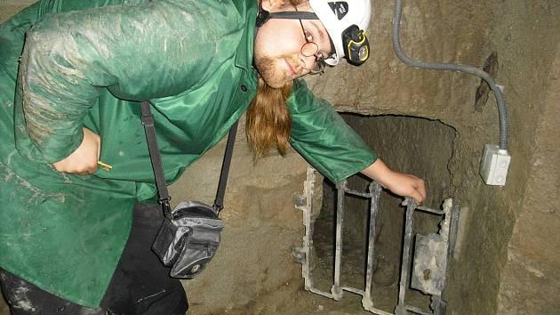 Vedení Znojma představilo novinářům nové adrenalinové trasy znojemského podzemí. Veřejnosti se otevřou 1. října.