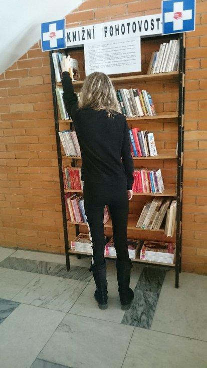 Jevišovická knihovna se stará o kihobudku ve znojemské nemocnici.
