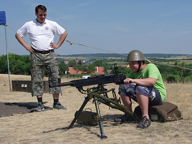 Zábavný a naučný program pro menší i odrostlejší návštěvníky připravili na sobotu a neděli pořadatelé v pěchotním srubu Zahrada u Šatova.